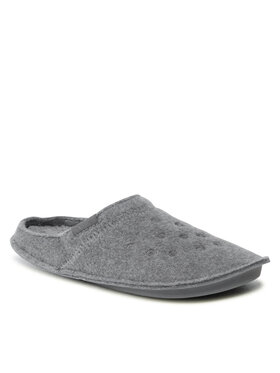 Crocs Crocs Пантофи Classic Slipper 203600 Сив