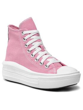 Converse Converse Sneakers aus Stoff Ctas Move Hi 568795C Rosa