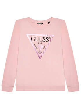 Guess Guess Μπλούζα J74Q10 KAUG0 Ροζ Regular Fit