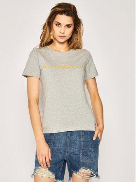 TOMMY HILFIGER TOMMY HILFIGER T-Shirt Annie WW0WW27965 Szary Regular Fit