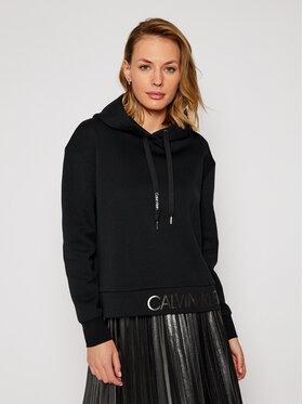 Calvin Klein Calvin Klein Mikina Ls Logo K20K202389 Černá Regular Fit