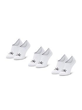 Calvin Klein Calvin Klein Set di 3 paia di pedulini da uomo 100001756 Bianco