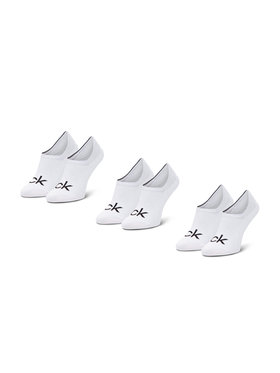 Calvin Klein Calvin Klein Σετ κάλτσες σοσόνια ανδρικές 3 τεμαχίων 100001756 Λευκό