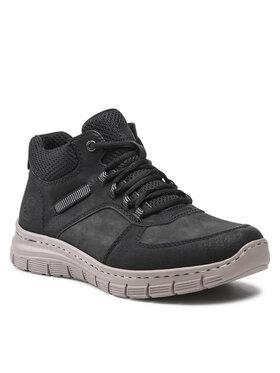 Rieker Rieker Sneakersy B5611-00 Czarny
