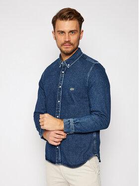 Lacoste Lacoste Marškiniai CH3124 Tamsiai mėlyna Regular Fit