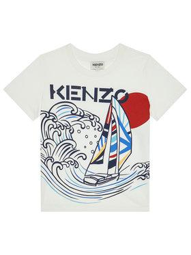 Kenzo Kids Kenzo Kids Tričko K25098 S Biela Regular Fit