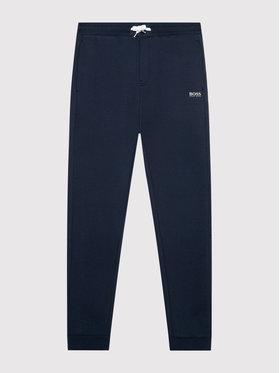 Boss Boss Spodnie dresowe J24722 D Granatowy Regular Fit