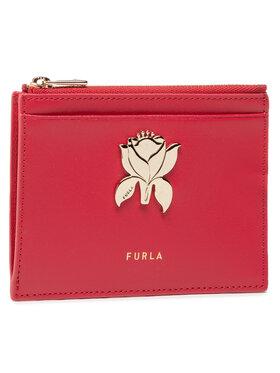 Furla Furla Калъф за кредитни карти Tuberosa WP00069-MSD000-RUB00-1-007-20-CN-P Червен
