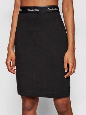 Calvin Klein Calvin Klein Mini sijonas K20K202592 Juoda Slim Fit