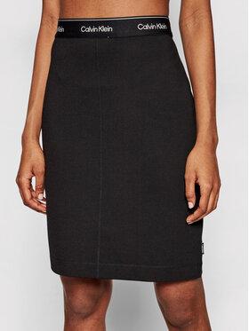 Calvin Klein Calvin Klein Mini suknja K20K202592 Crna Slim Fit