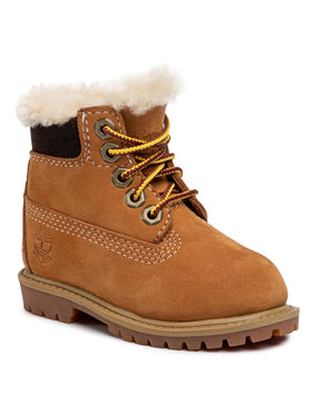 Timberland Timberland Scarponcini 6 In Prm Wp Shearling TB0A1BF52311 Marrone