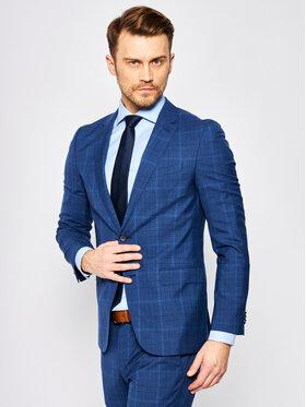 Boss Boss Kostiumas Novan6/Ben2 50427276 Tamsiai mėlyna Slim Fit