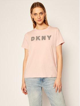 DKNY Sport DKNY Sport Tricou DP0T7440 Roz Regular Fit