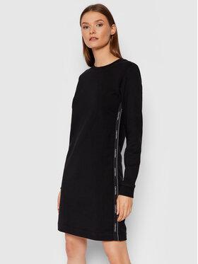 Calvin Klein Calvin Klein Плетена рокля Logo Tape K20K203059 Черен Regular Fit