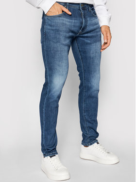 Pepe Jeans Pepe Jeans Traperice Stanley PM201705 Tamnoplava Slim Fit