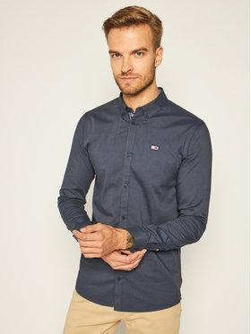 Tommy Jeans Tommy Jeans Chemise Tape Oxford DM0DM08382 Bleu marine Slim Fit