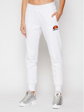 Ellesse Ellesse Teplákové kalhoty Queenstown SGC07458 Bílá Regular Fit