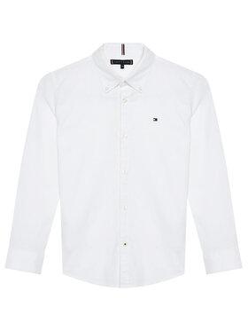 Tommy Hilfiger Tommy Hilfiger Πουκάμισο Oxford KB0KB06964 D Λευκό Regular Fit