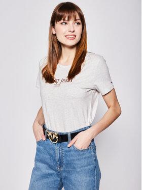 Tommy Jeans Tommy Jeans T-Shirt DW0DW06712 Γκρι Regular Fit