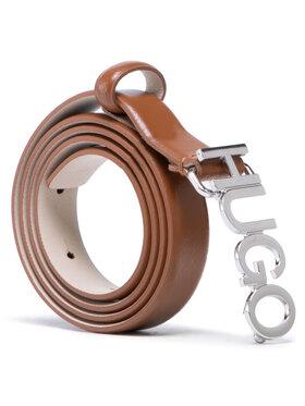 Hugo Hugo Damengürtel Zula Belt 2 Cm 50441986 10197802 01 Braun