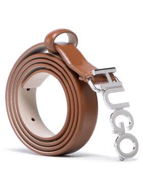 Hugo Hugo Dámský pásek Zula Belt 2 Cm 50441986 10197802 01 Hnědá