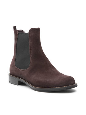 ECCO ECCO Členková obuv s elastickým prvkom Sartorelle 25 26650305576 Hnedá