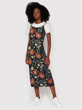 Desigual Desigual Sukienka codzienna Amapola 21WWVK61 Czarny Regular Fit