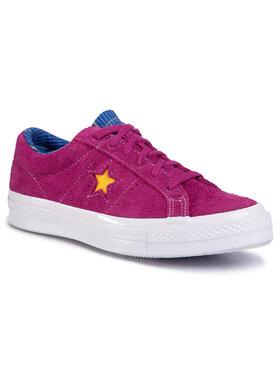 Converse Converse Sneakers aus Stoff One Star Ox 166846C Violett