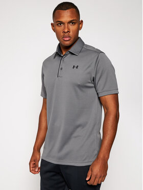 Under Armour Under Armour Polo Ua Tech 1290140 Γκρι Loose Fit