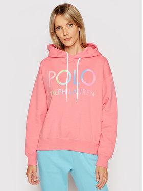 Polo Ralph Lauren Polo Ralph Lauren Bluza Lsl 211838111001 Różowy Regular Fit