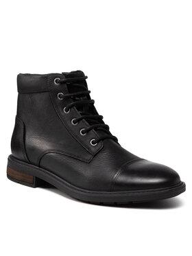 Geox Geox Stiefel U Viggiano F U16CVF 00046 C9999 Schwarz