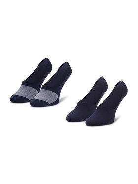 Levi's® Levi's® Súprava 2 párov krátkych pánskych ponožiek 37157-0225 Tmavomodrá