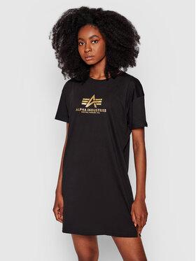 Alpha Industries Alpha Industries Повсякденна сукня Basic 116055FP Чорний Regular Fit