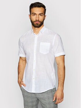 Pierre Cardin Pierre Cardin Marškiniai 53916/000/27175 Balta Modern Fit