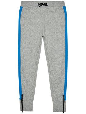 4F 4F Teplákové kalhoty HJL21-JSPMD003A Šedá Regular Fit