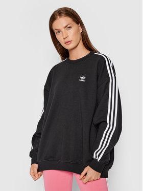 adidas adidas Bluză adicolor Classics H33539 Negru Oversize