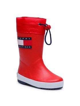Tommy Hilfiger Tommy Hilfiger Kalosze Rain Boot T3X6-30766-0047 M Czerwony