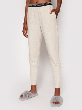 Calvin Klein Underwear Calvin Klein Underwear Teplákové nohavice 000QS6429E Béžová Regular Fit