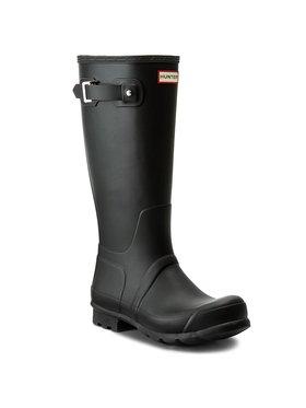 Hunter Hunter Guminiai batai Oryginal Tall MFT9000RMA Juoda
