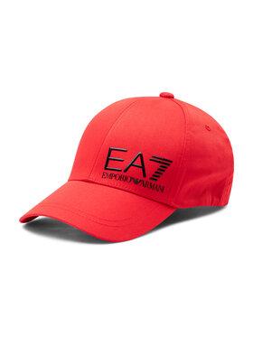 EA7 Emporio Armani EA7 Emporio Armani Kepurė su snapeliu 275936 1P103 31474 Raudona