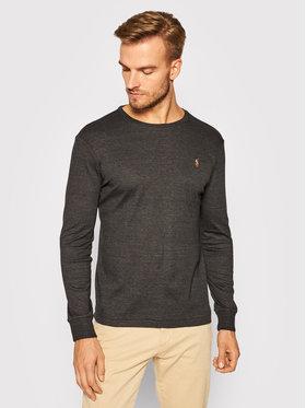 Polo Ralph Lauren Polo Ralph Lauren Тениска с дълъг ръкав 710760121010 Черен Slim Fit