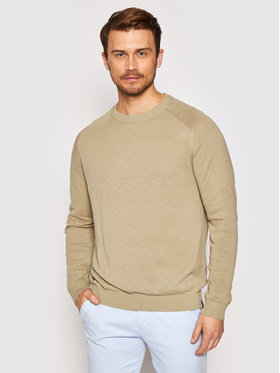 Jack&Jones Jack&Jones Pulover Nico 12184818 Bej Regular Fit