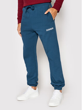 Napapijri Napapijri Teplákové nohavice M-Box NP0A4FR6 Modrá Regular Fit