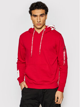 Alpha Industries Alpha Industries Sweatshirt Alpha Hoody 126345 Rouge Regular Fit