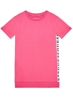 Guess Guess Každodenné šaty K1RK08 KAE40 Ružová Regular Fit