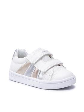 Geox Geox Sneakersy J Djrock G. B J154MB 01454 C1000 M Biały