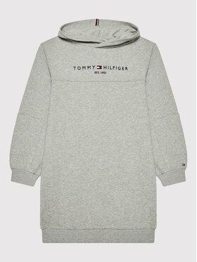 Tommy Hilfiger Tommy Hilfiger Sukienka codzienna Essential KG0KG05636 Szary Regular Fit