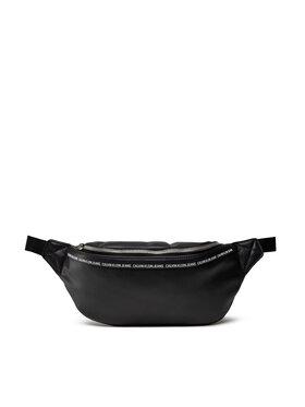 Calvin Klein Jeans Calvin Klein Jeans Чанта за кръст Smooth Logo Tape Waistbag K50K507210 Черен