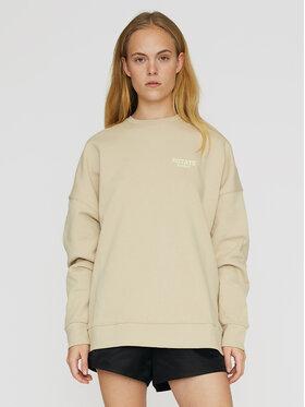 ROTATE ROTATE Sweatshirt Iris RT465 Beige Oversize