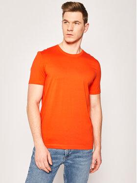 Boss Boss T-shirt Tiburt 55 50379310 Orange Regular Fit